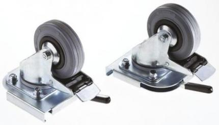 Zarges K-470 Series Set of Swivel Casters (2)