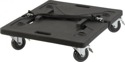 "Caster Cart Board for 20"" Shock racks"