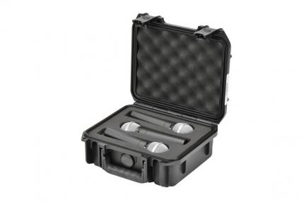 SKB Waterproof Case with insert for Mics