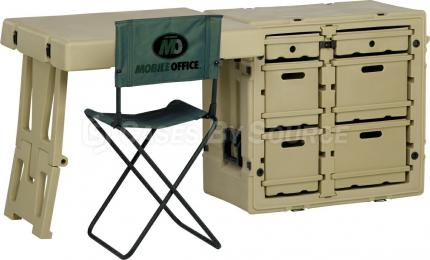 Hardigg Field Desk with Chair