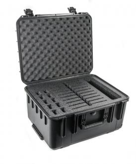 CasePro iPad 10-Pack Wheeled Hard Case