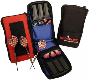 Metroline Double Deluxe Dart Case