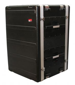16U Gator ATA Shock Rack Case with Rubber Shock Suspension