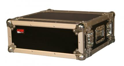 4U Shallow ATA Rackmount Road Case