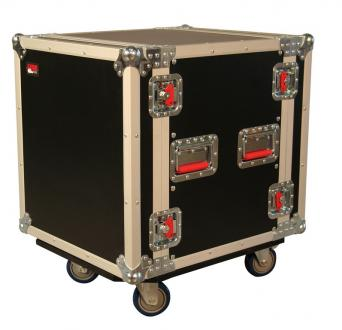 ATA 12-Space Road Case with Casters