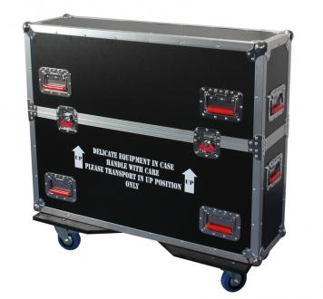 "ATA Road Case with Casters for 26"" to 32"" LCD/LED/Plasma Screen Monitors"