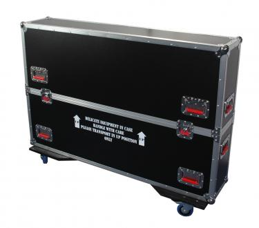 "ATA Road Case with Casters for 37"" to 43"" LCD/LED/Plasma Screen Monitors"