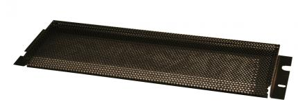 1U Perforated Security Cover for Protection Against Tampering