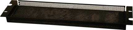 2U Perforated Security Cover for Protection Against Tampering