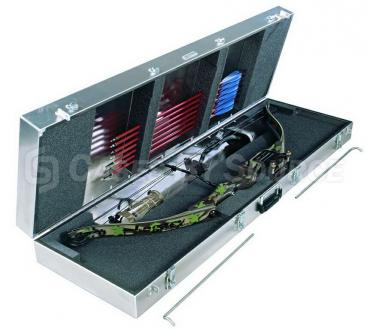 MIL-Aluminum Heavy Duty Single Compound Bow Case
