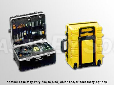 Wheeled Magnum Tool Case with 2 Pallets