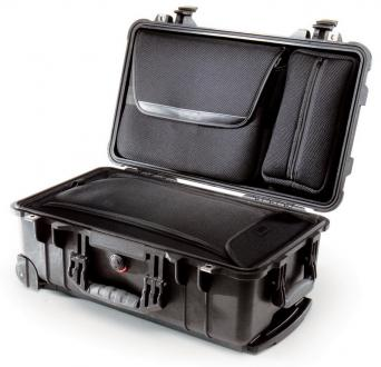Pelican 1510 Recessed Wheeled Watertight Laptop Overnight Case