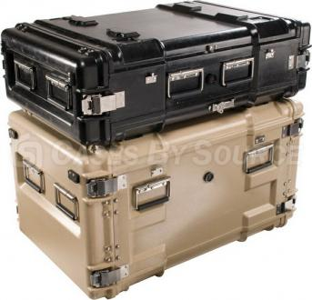 Pelican Hardigg 14U Composite Case Shock Rack