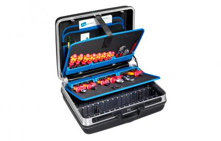 Large Heavy Duty Tool Case with Universal Pallets