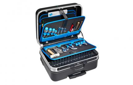 Heavy Duty Tool Case with Universal Pallets, Pull Handle, Wheels