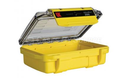 VersaCase Waterproof 206 UltraBox Yellow with Clear Lid Empty