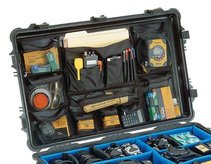 Pelican 1660 Photo/Lid Organizer