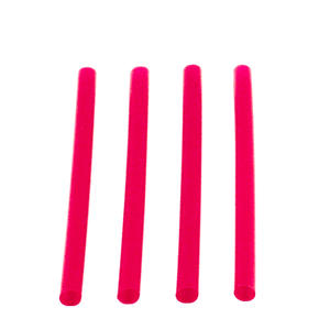 Fat Straw Red 6""