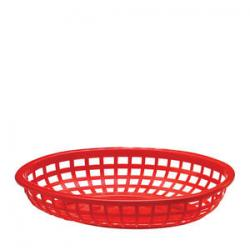 Classic Oval Basket Red 9 3/8