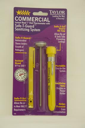 "Taylor Commercial Instant Read 1"" Dial Thermometer"