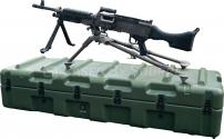 Hardigg M240B Machine Gun & Spare Barrel Case