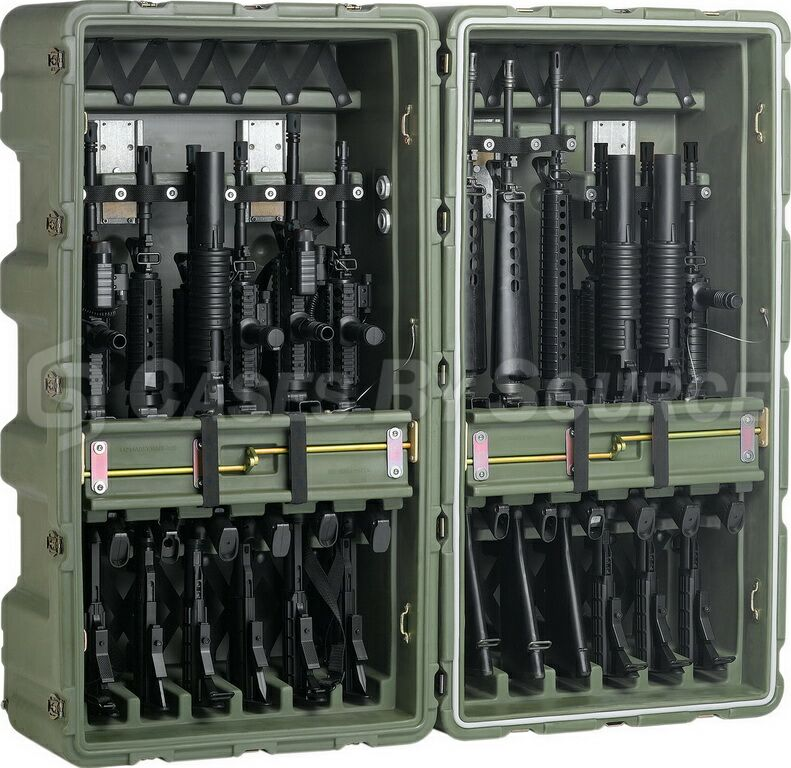 Hardigg Transport Rifle Rack M4 M16 Case 472 M4 M16