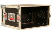 6U Shallow ATA Rackmount Road Case