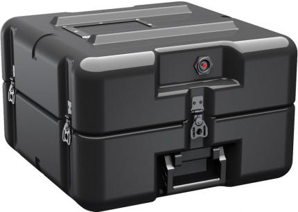 AL1616-0505 FlangeMount Roto Molded Single Lid Hardigg Case