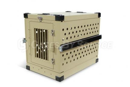 Aluminum Collapsible Dog Crate - Large
