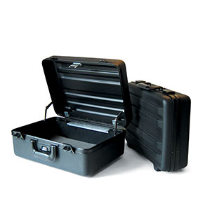 "CH Ellis 6"" Classic Black Carrying Case"