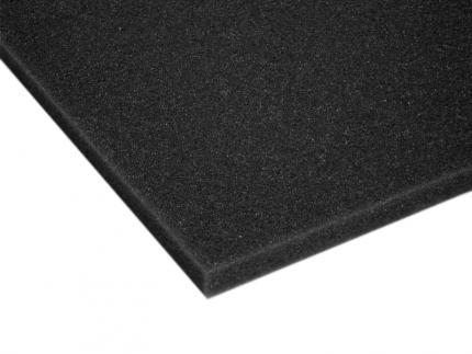 Soft Charcoal Ester Foam Sheet (2lb. Dens.)