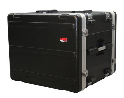 8U Gator ATA Shock Rack Case with Rubber Shock Suspension
