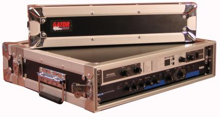 2U Shallow ATA Rackmount Road Case