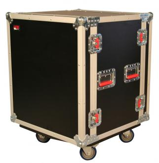 ATA 12U Shock Rack Road Case with Casters