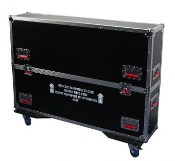 "ATA Road Case with Casters for 43"" to 50"" LCD/LED/Plasma Screen Monitors"