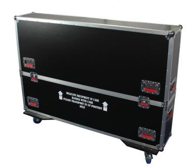 "ATA Road Case with Casters for 50"" to 55"" LCD/LED/Plasma Screen Monitors"