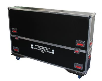 "ATA Road Case with Casters for 60"" to 65"" LCD/LED/Plasma Screen Monitors"