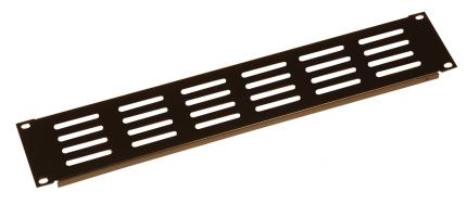 1.2mm 2U Slotted Panel with Elongated Vent Holes