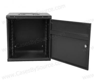 "12U, 17"" Deep Fixed Wall Mounted Rack"