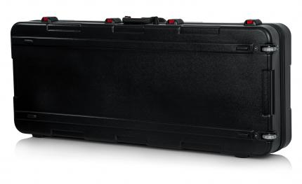 ATA Molded Utility Case for 61 Note Keyboards with TSA Latches & Wheels