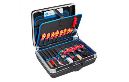 Large Heavy Duty Tool Case with Pocket Pallets
