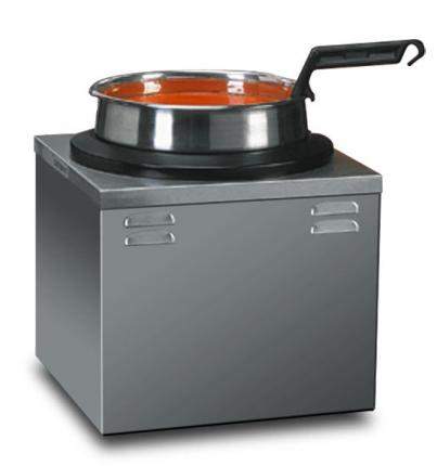Single 7 Qt. Warmer with Inset, Cover & Ladle