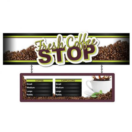 "4ft Eurorail ""Coffee Stop"" Merchandiser"
