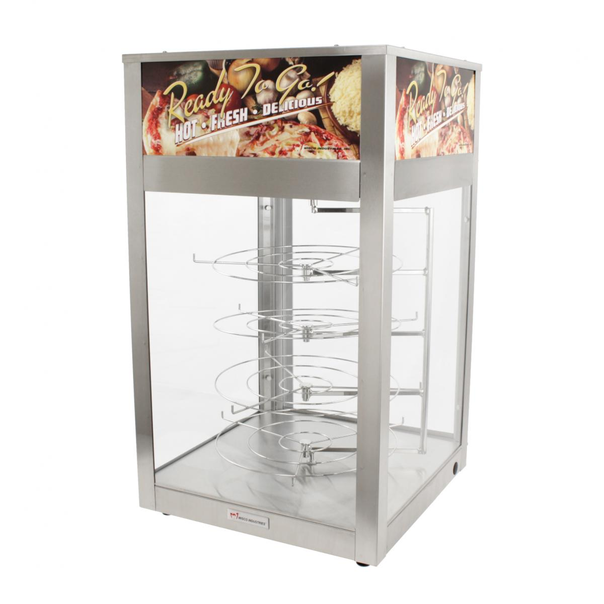 Wisco 695D Single Door Pizza Merchandiser/Warmer with Rotating Shelves  sc 1 st  FoodPros & Wisco 695D Single Door Pizza Merchandiser/Warmer | FoodPros