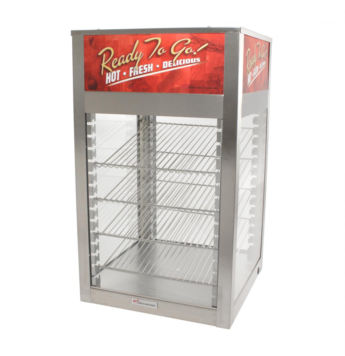 Wisco 695D-S Single Door Merchandiser/Warmer with 4 Shelves  sc 1 st  FoodPros & Wisco 695D-S Single Door Merchandiser/Warmer with 4 Shelves | FoodPros