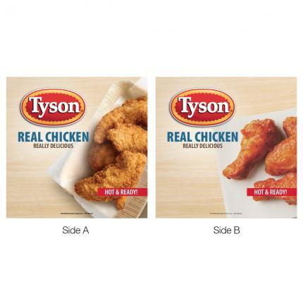 780 & 791 Header Card and Menu Strip Set - Tyson Chicken