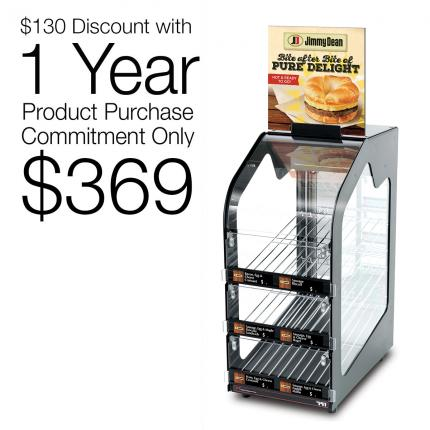 791 Slimline Warmer - Jimmy Dean - 1 Year Agreement