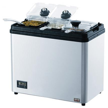 Server Products 86006 Countertop Chiller with Jars
