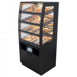Bakery Case: Floor-Standing with Mirrored Back & LED Strip Lights