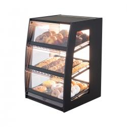 Bakery Case: Narrow Countertop with Premium LED Back Panel